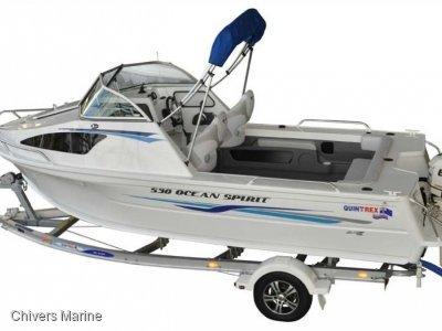 Quintrex 530 Ocean Spirit | Evinrude E-tec E75 * New Package