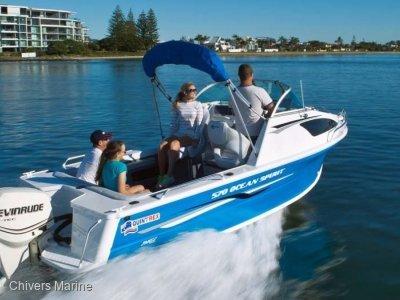 Quintrex 570 Ocean Spirit | Evinrude E-tec E90 * New Package