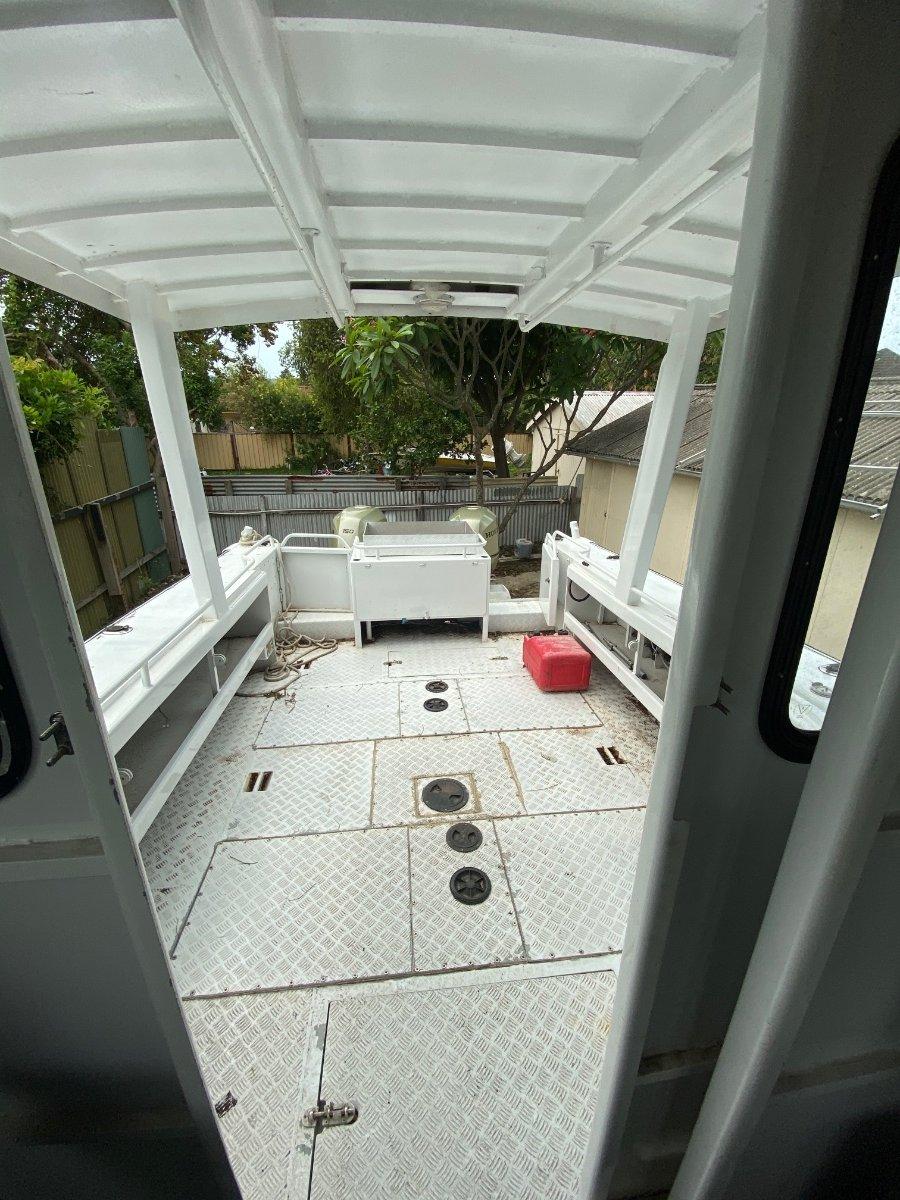 Alufarm Fishing Vessel Enclosed Cabin Hardtop