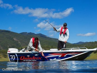 Quintrex F420 Explorer Trophy | Evinrude E-tec E30 * New Package