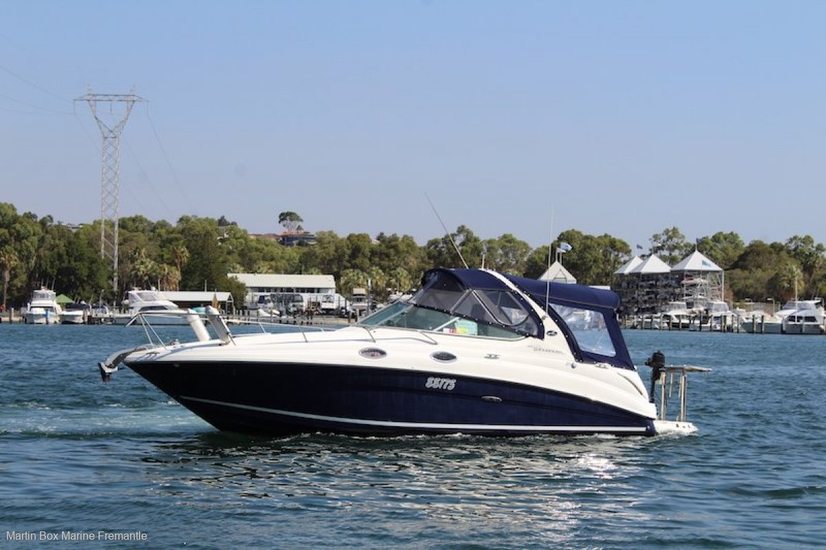 Sea Ray 280 Sundancer (Hull and mechanical inspectoin completed)