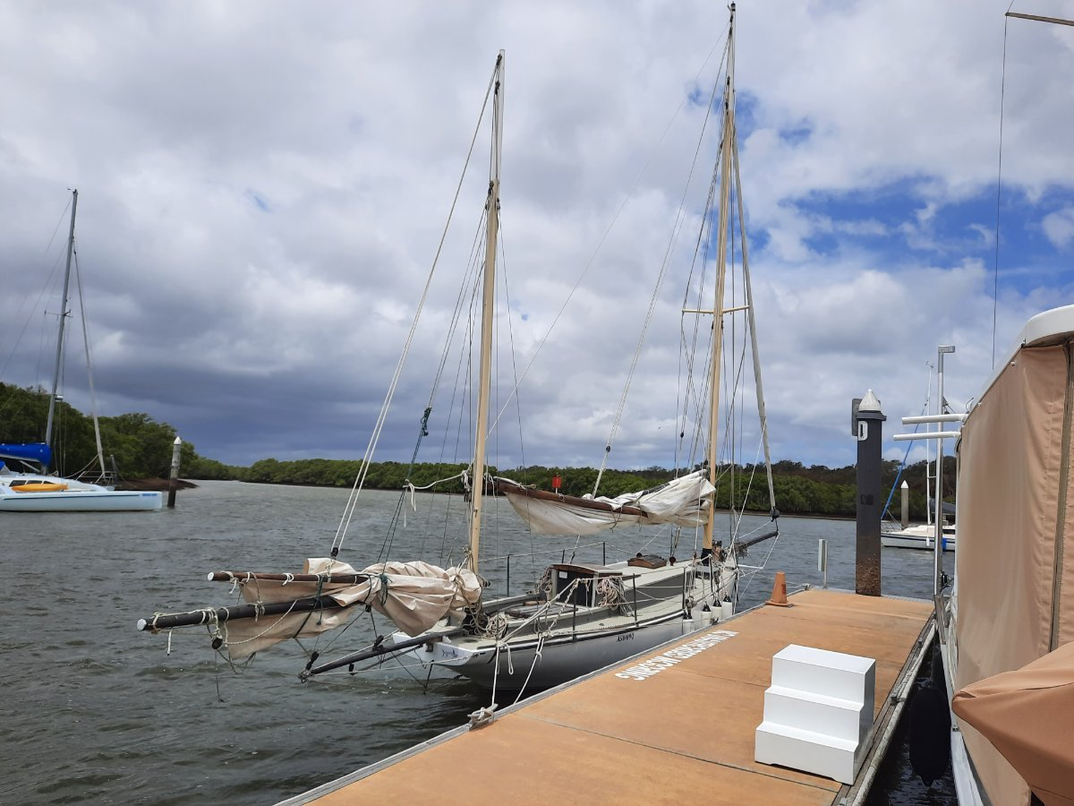 Edward Burgess 1861 Gaff Rigged Sailing Yawl
