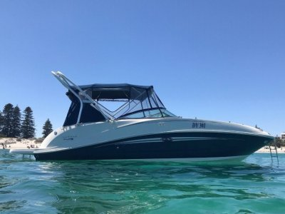 Sea Ray 260 Sundeck Stylish speed machine with only 200 hours- Click for more info...