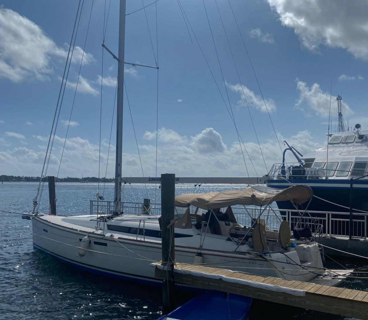 Jeanneau Sun Odyssey 449 - ready to sail away!