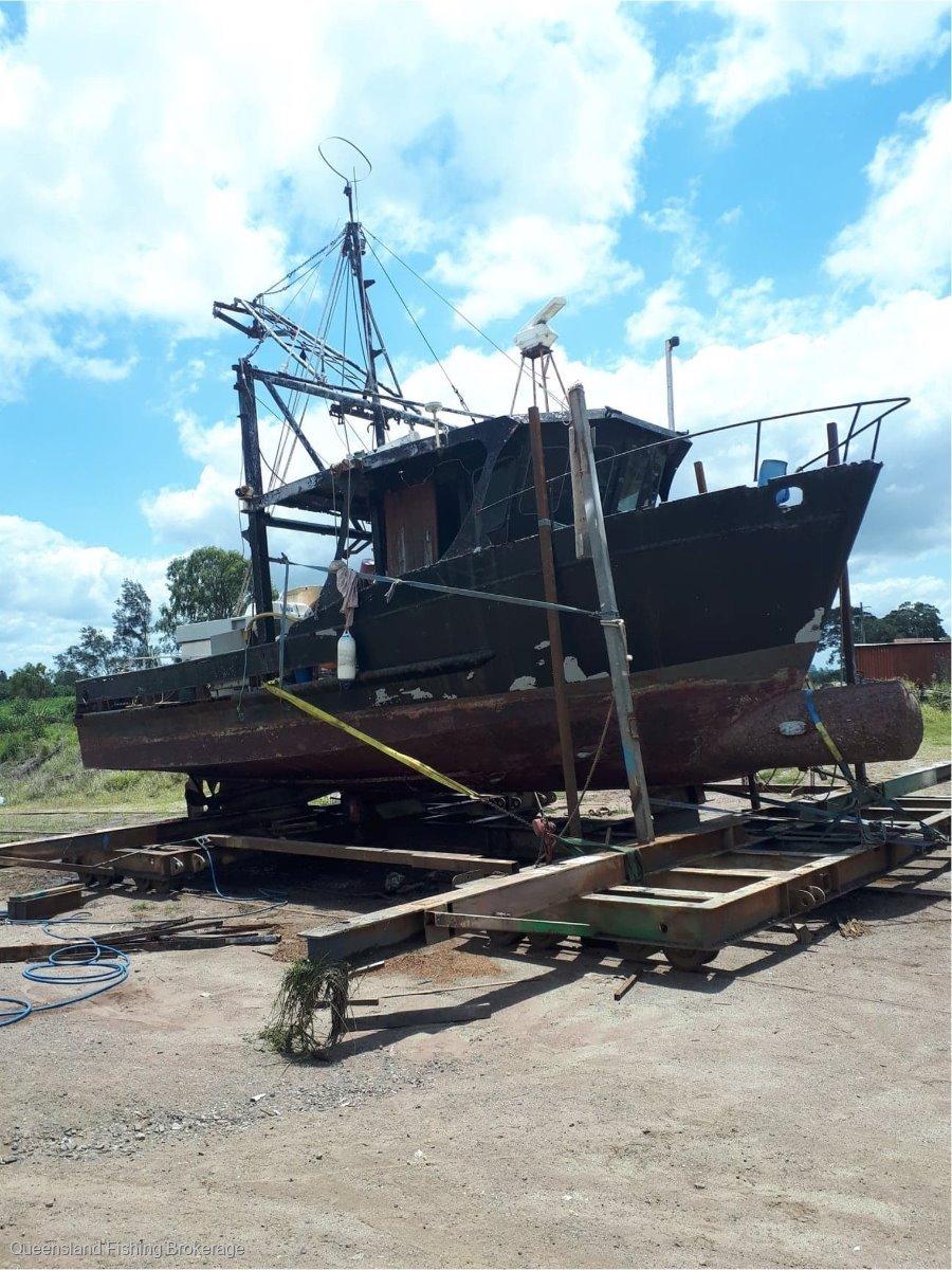TS436 10.6m Steel Prawn Trawler