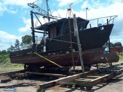 10.6m Steel Prawn Trawler
