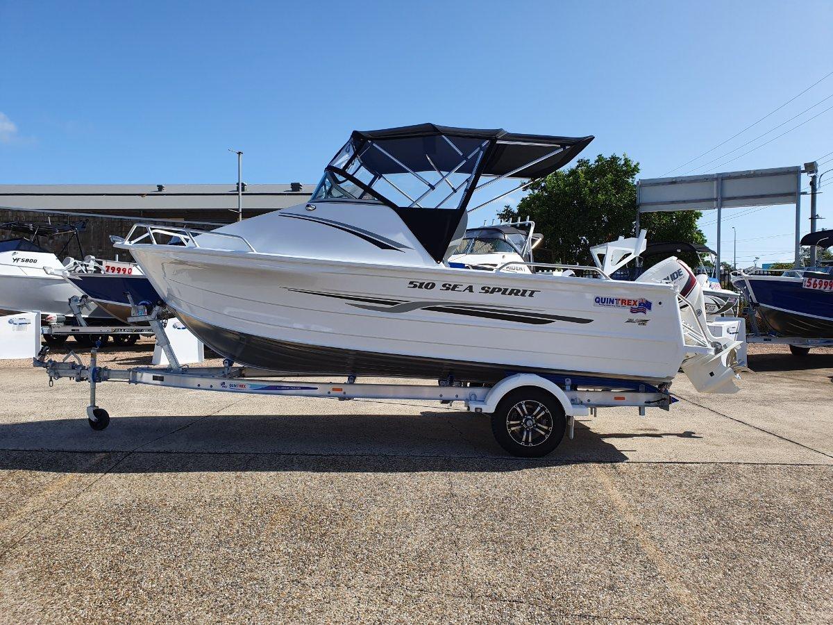 New Quintrex 510 Sea Spirit