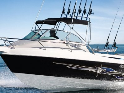 Haines Hunter 595 Offshore starting at $56500 Run Out Model