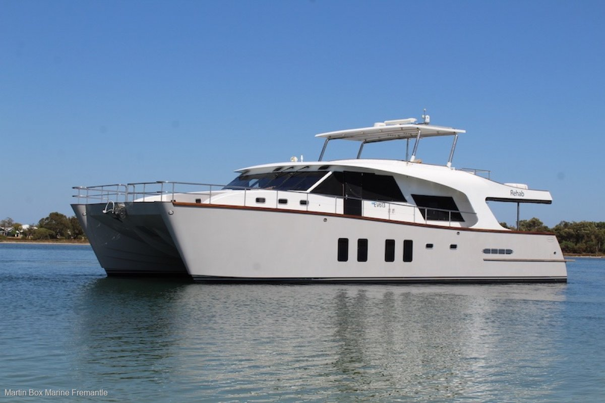 Brady 17.4m Pathfinder Pilothouse Launched in 2014