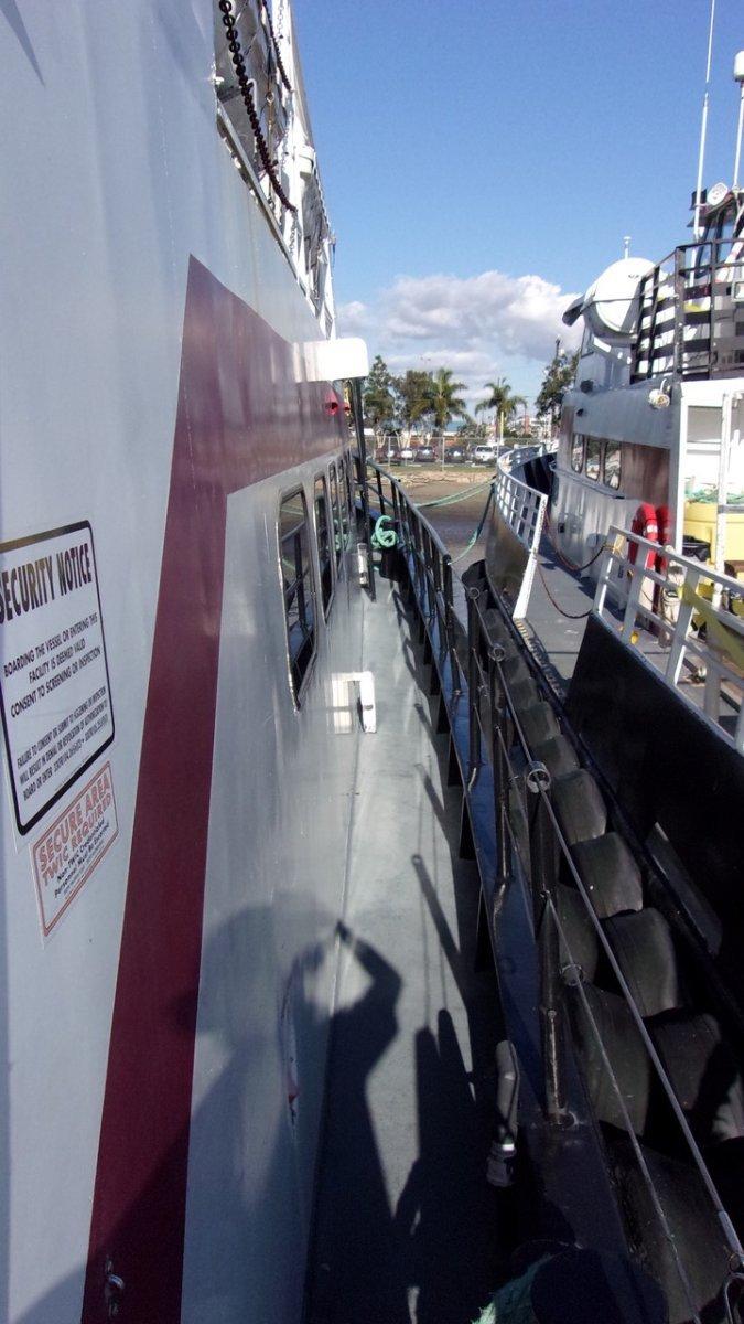 85ft Triple Screw Crew Boat