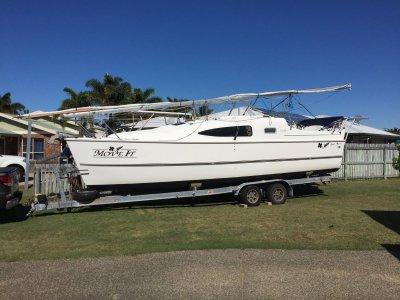 Mackman 28 Trailer Sailer