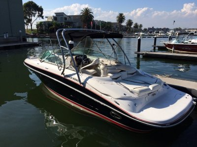 Four Winns H240 - relaxing, wakeboarding or skiing