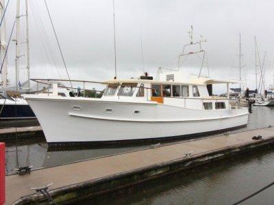 "Fred Fleming 43 ft Motor Cruiser ""Caribou"""