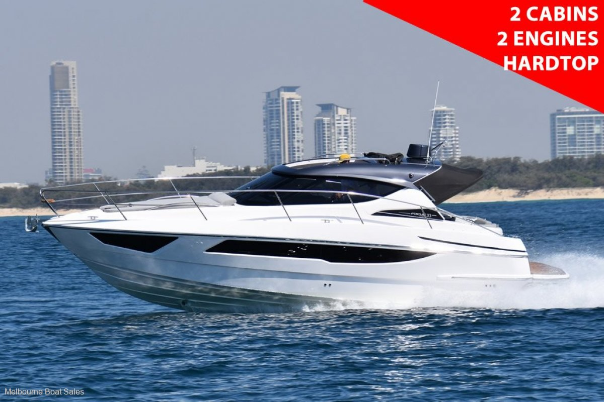 Focus Power 33 - NEW - 2 CABINS, 2 ENGINES, HARDTOP