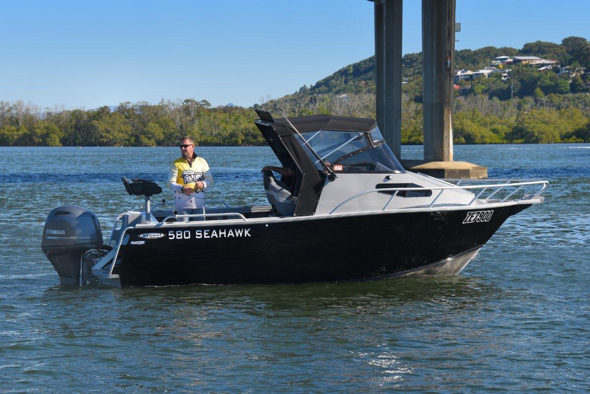 Stessl 580 Seahawk PLATE ALLOY Cuddy Cabin Powered with 130HP Yamaha