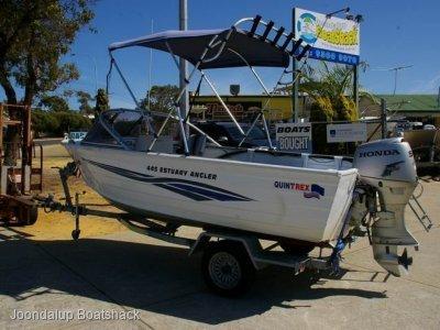 Quintrex 445 Estuary Angler 2006 model Honda four stroke