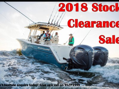 2018 Yamaha Outboards Stock Clearance