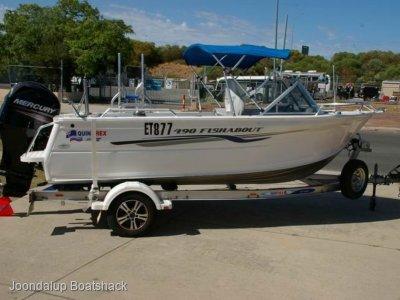 Quintrex 490 Fishabout 2014 model