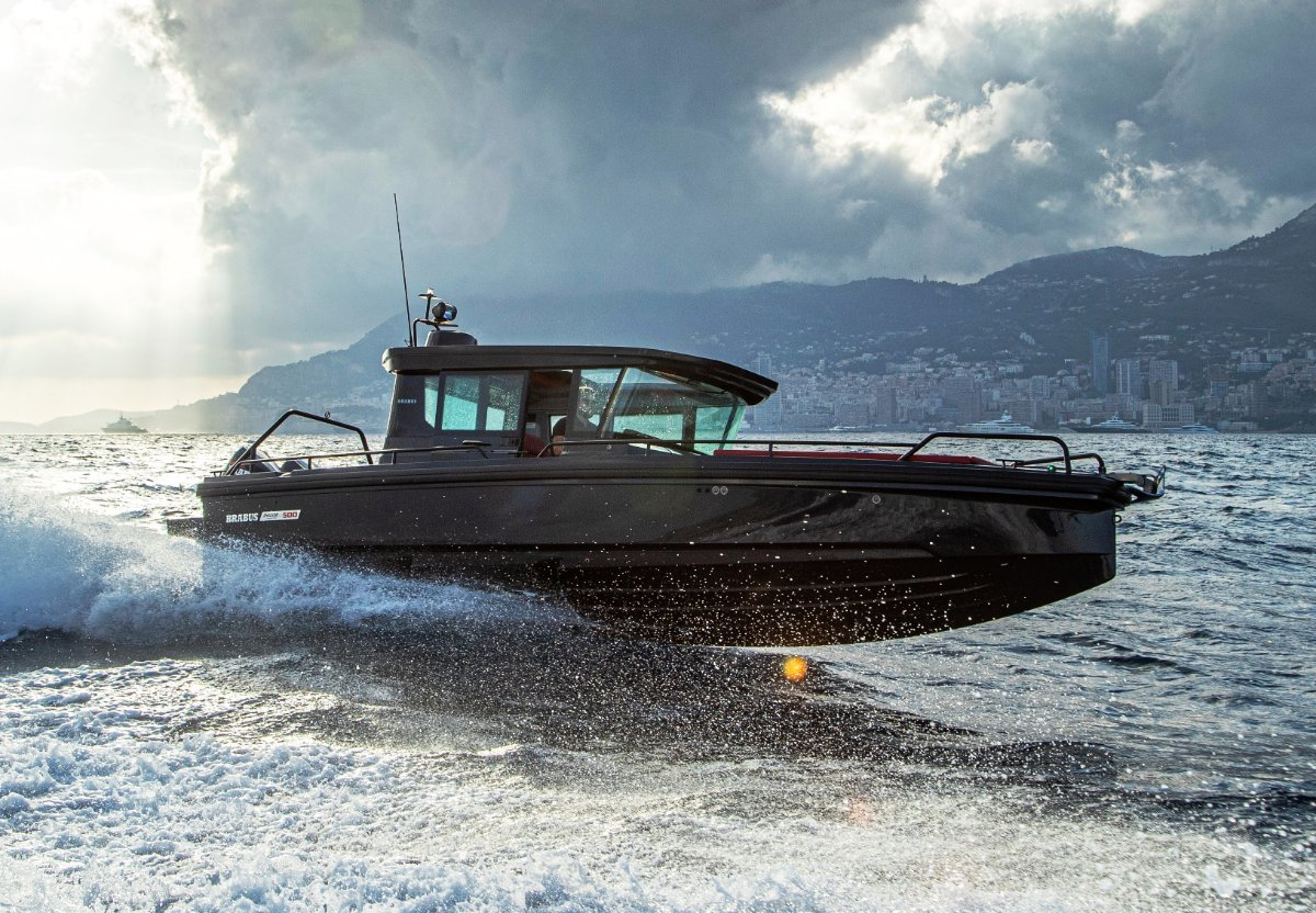Brabus Marine Shadow 500 Cabin Black Ops Limited Edition