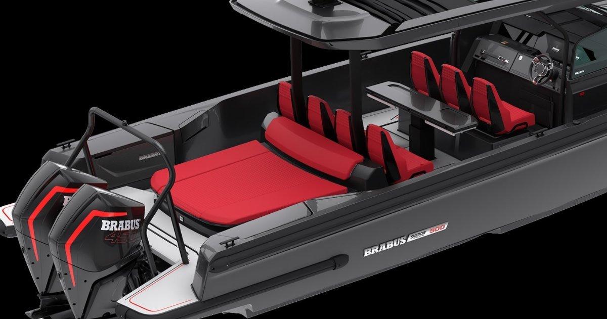 Brabus Marine Shadow 900 Sun Top Black Ops Limited Edition