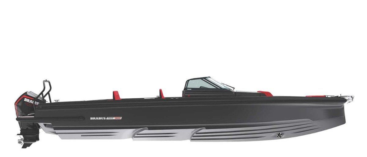 Brabus Marine Shadow 900 Spyder Black Ops Limited Edition