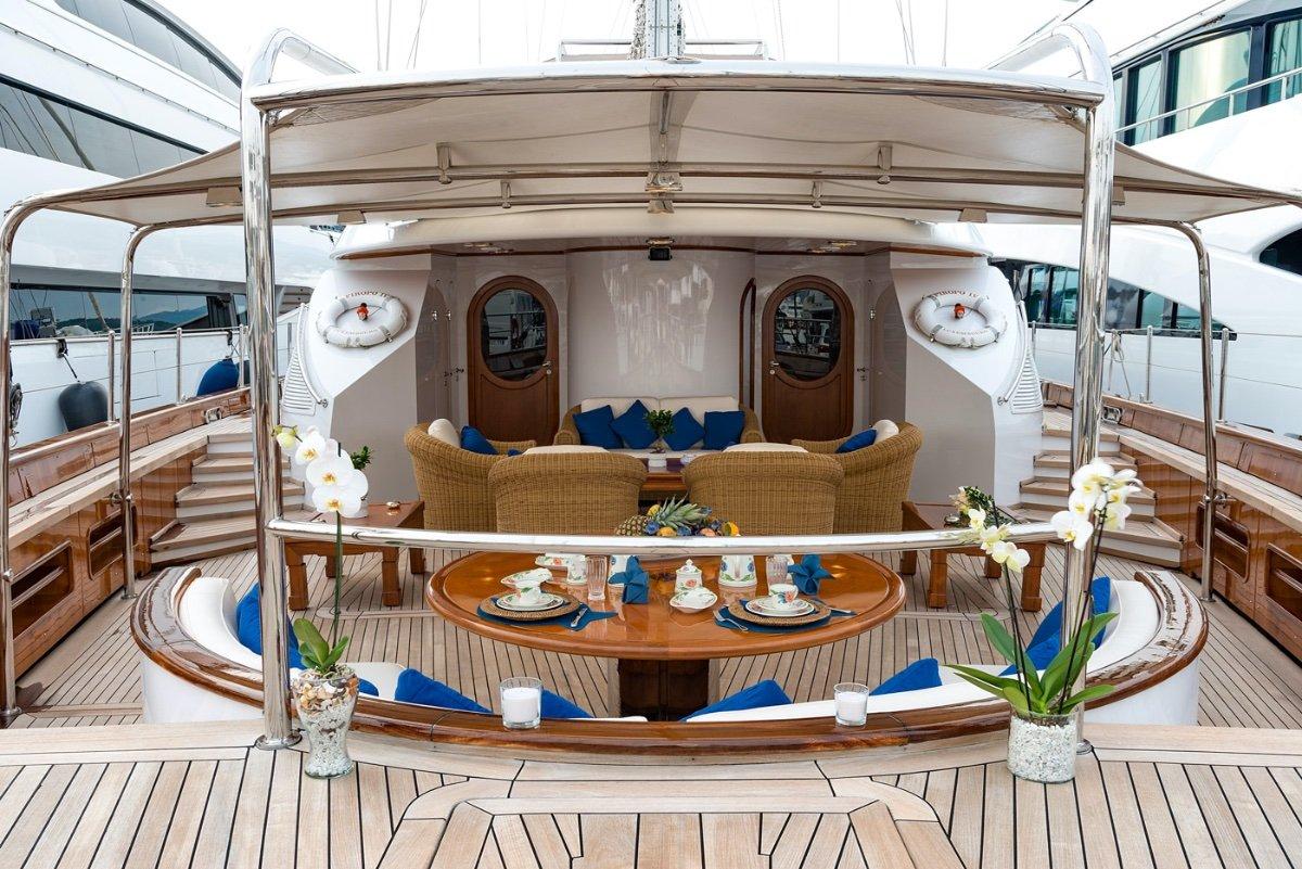 46m Superyacht - Classic Perini Navi Sailing Ketc