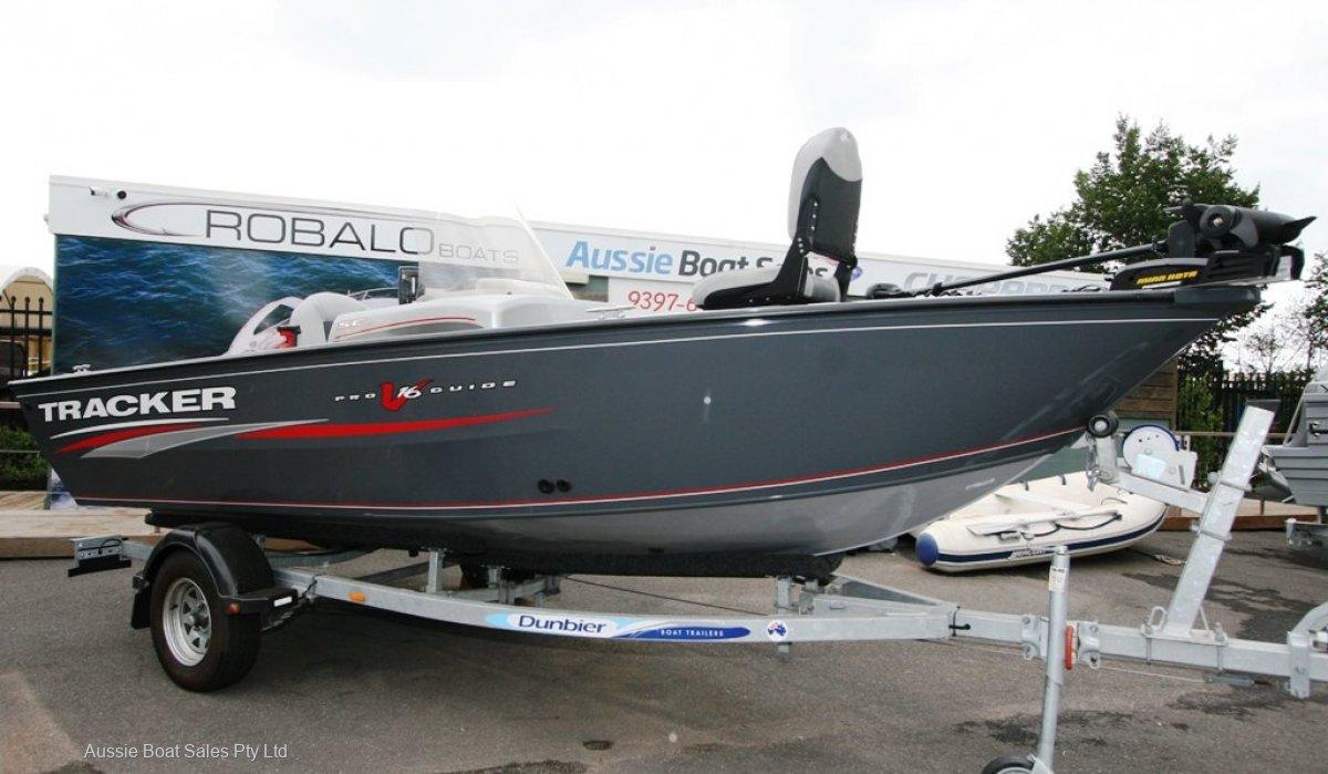 Tracker Pro Guide V16 SC Deep V Tournament Boat