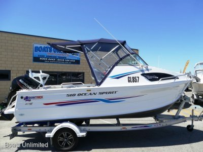 Quintrex 510 Coast Runner NEAR NEW 2019 13HR OLD FISHING FAMILY BOAT FORSALE- Click for more info...
