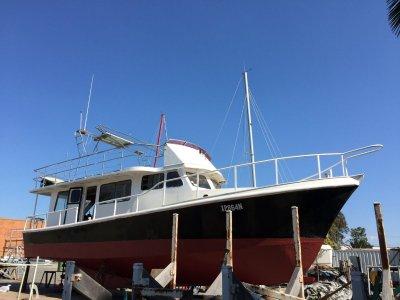 Custom big steel cruiser / trawler