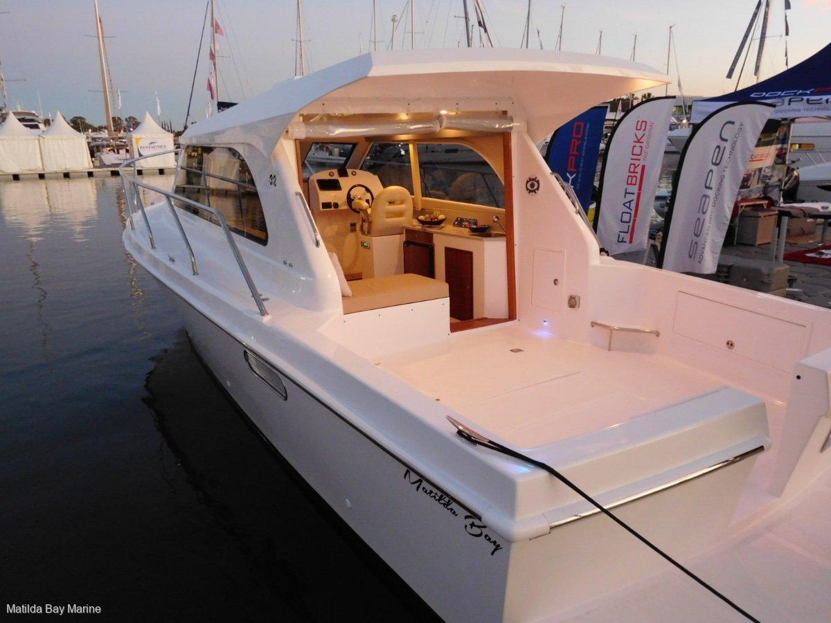 New Matilda Bay 32 Open - Twin Inboard Diesel