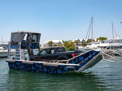 Custom 2004 Alloy Landing Barge