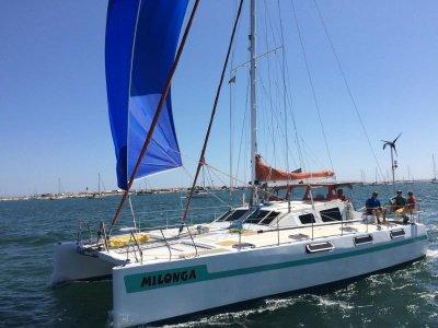 Simpson 42 Sailing Catamaran True blue water cruising catamaran