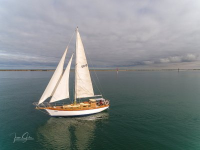 Ted Brewer Designed 38 foot Timber Cutter