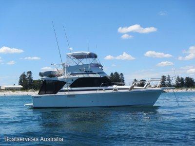 Bertram Caribbean 35 The best sea handling 35' Convertable ever