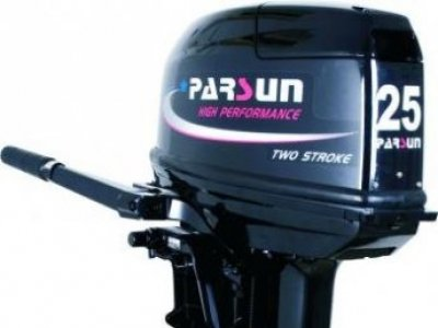 NEW Parsun T25BML 2-Stroke Tiller Control Outboard