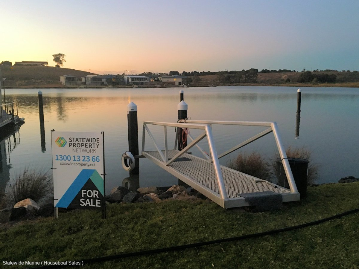 Berth - Premium Position in Mannum Waters Marina