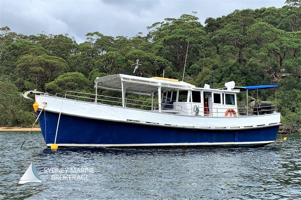 Boden North Sea Classic Timber Charter Boat