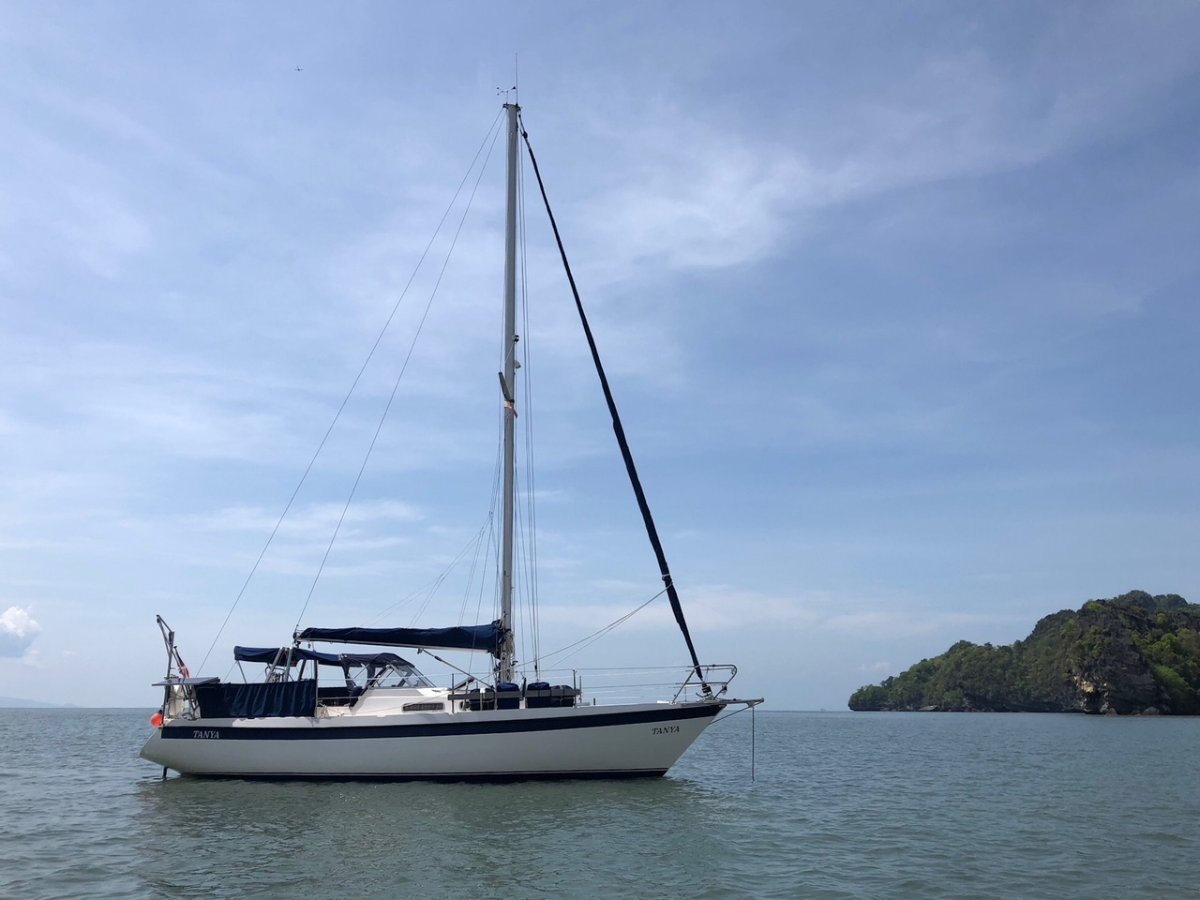 Targa 96 Yacht for Sale in Langkawi, Malaysia.:Targa 96 Yacht for Sale in Langkawi.
