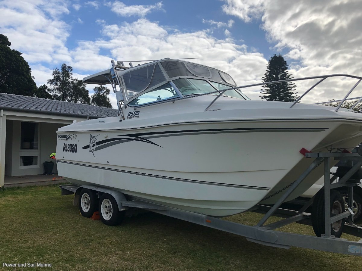 Powercat 2500 Sports Fisherman and Trailer!