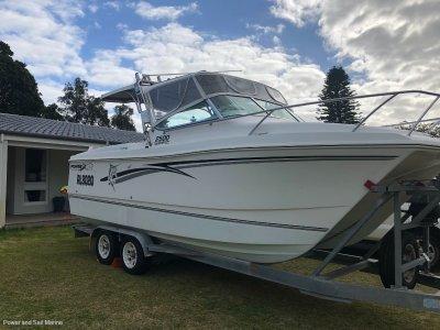 Powercat 2500 Sports Fisherman and Trailer!