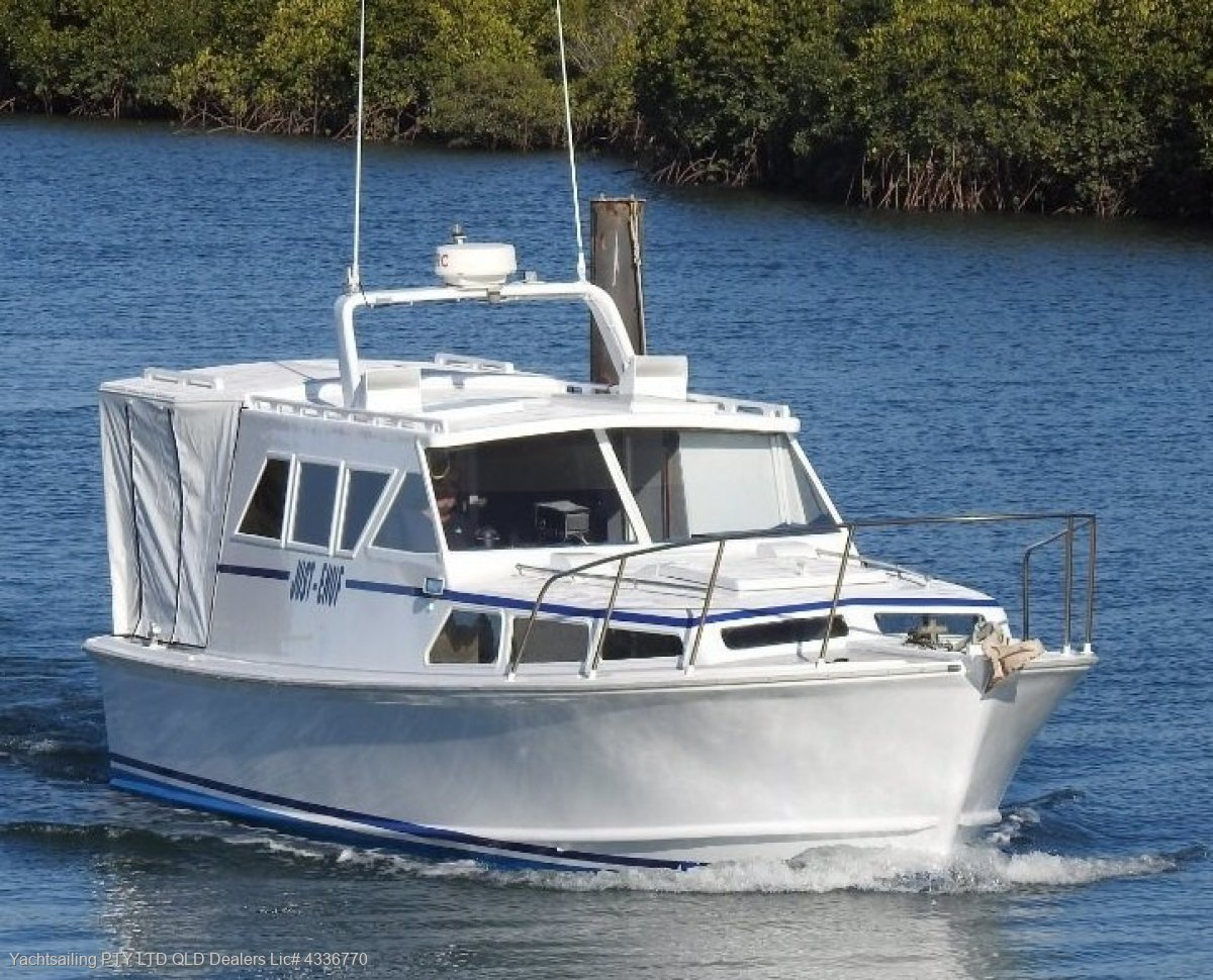 Swiftcraft 33 Renovated power boat