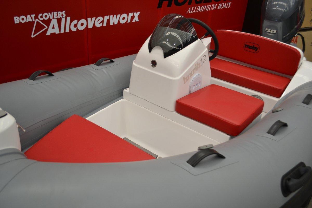 Moby RIB Luxrib12 3.6 mtrs powered 50HP Yamaha 4 stroke $29.670