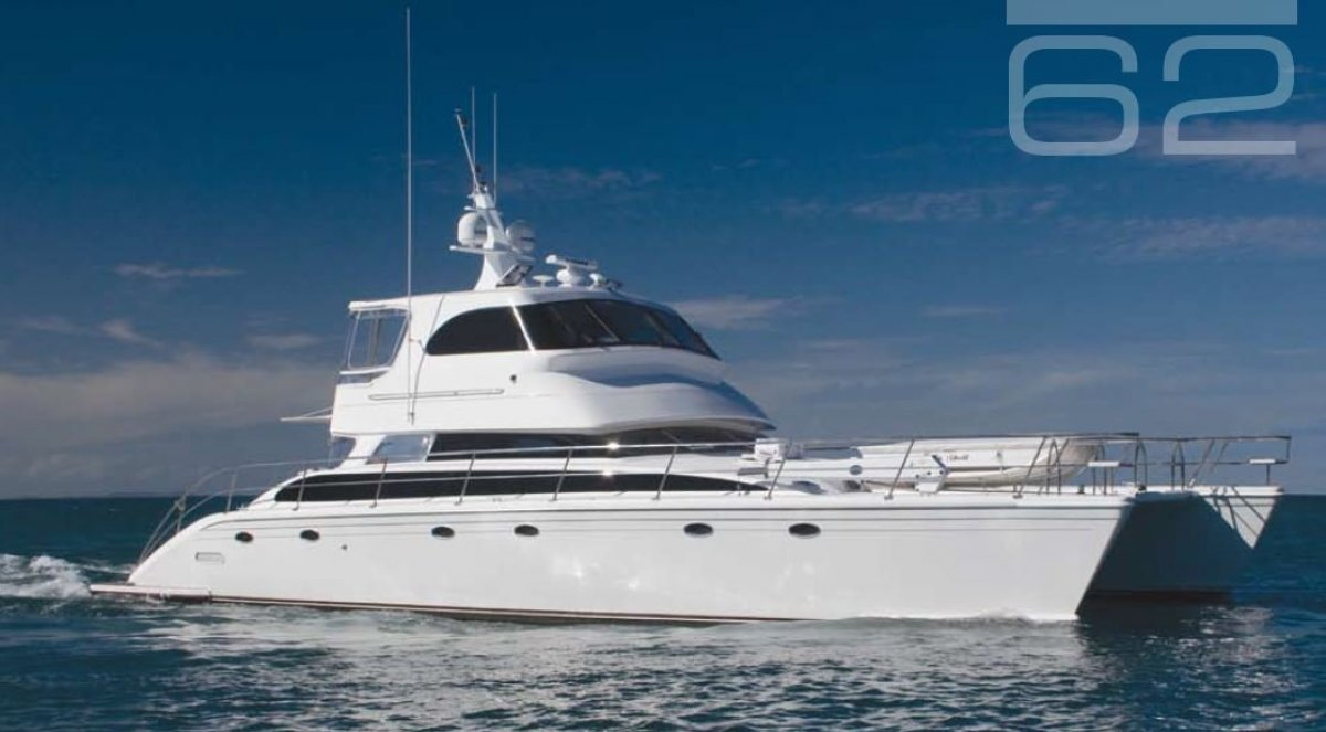 Perry 62 Catamaran:Perry 62 for sale