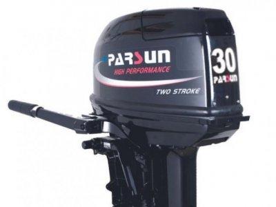 NEW Parsun 30BML 2-Stroke Tiller Control Outboard