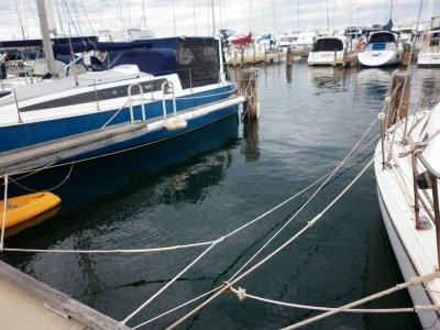 Hillarys Yacht Club marina pen