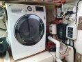 Custom 14 Meter Motor Yacht:Lazarette washer
