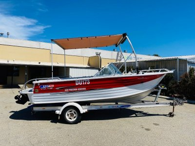 Quintrex 560 Freedom Cruiser Great All Rounder with Nice Customisation