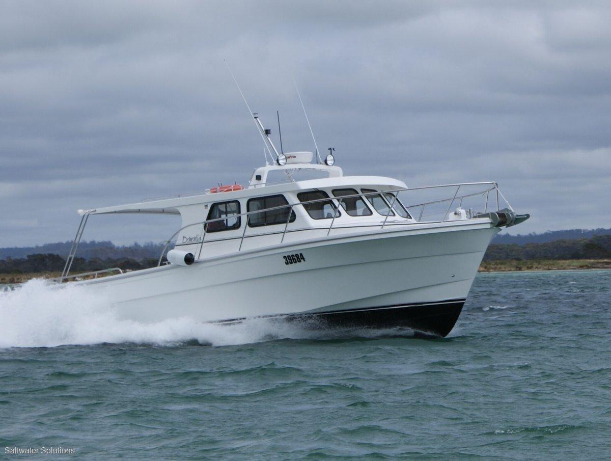 Badenach 13.5 m Commercial Vessel:Dementia easily slips through rough seas on the plane