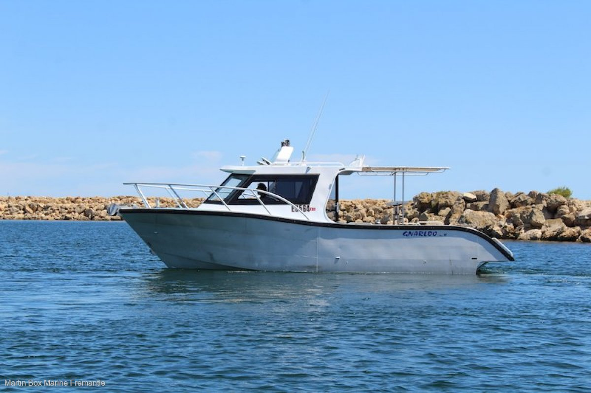 Western Boat Builders Gnarloo 28 by Southerly designs