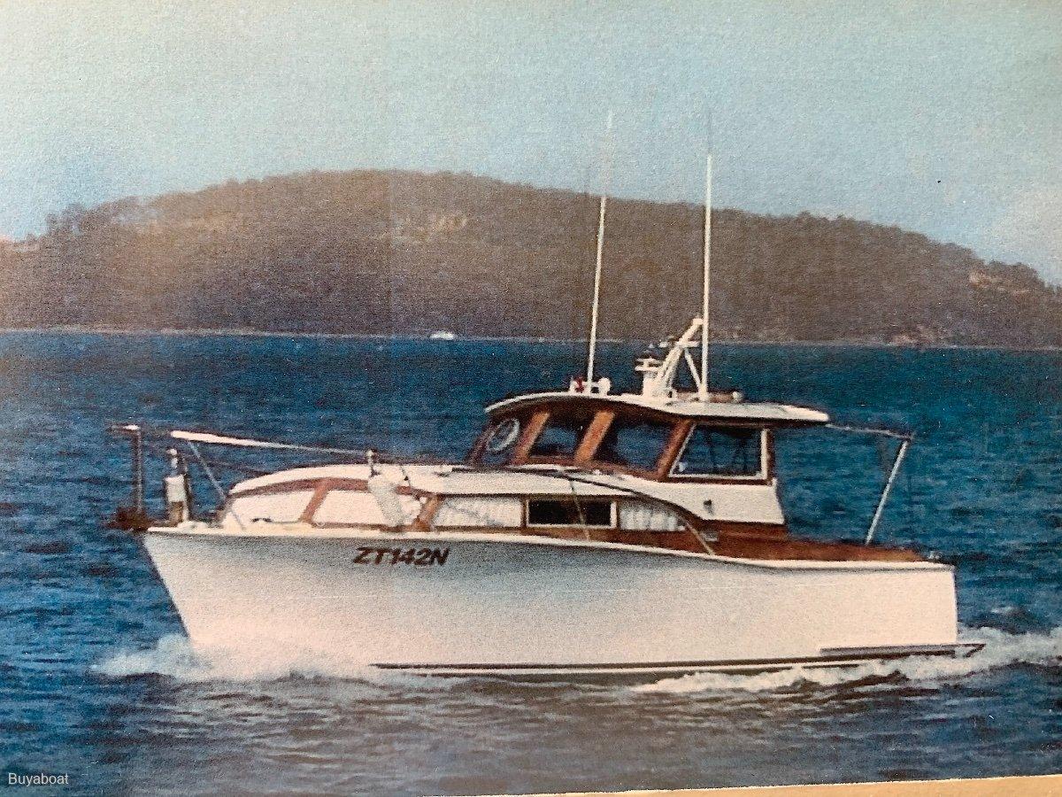 28 Fumini / Halvorsen Like Timber motor cruiser